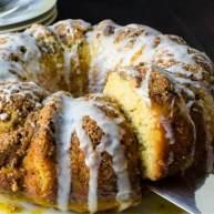 西番莲朗姆圆环蛋糕