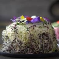 三文鱼三明治蛋糕