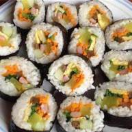 紫菜包饭(韩式寿司)