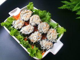 鳕鱼肉松寿司