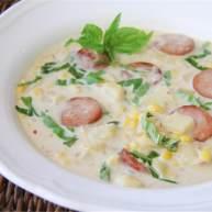 玉米香肠杂烩浓汤