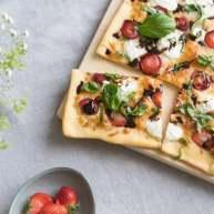草莓意大利香醋披萨