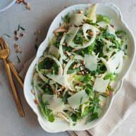 茴香芝麻菜苹果沙拉