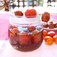 西红柿和梅子的相遇