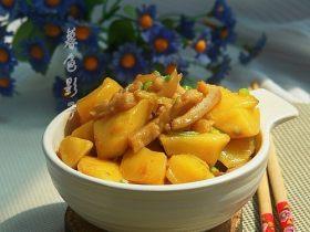 猪肉皮炖土豆