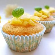 果味长崎纸杯蛋糕