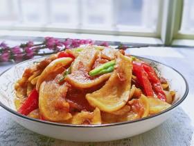 蘿卜干燒五花肉