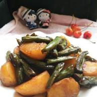 干煸刀豆土豆