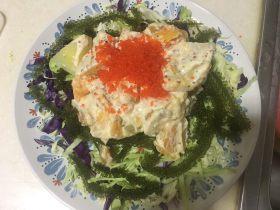 魚籽土豆沙拉