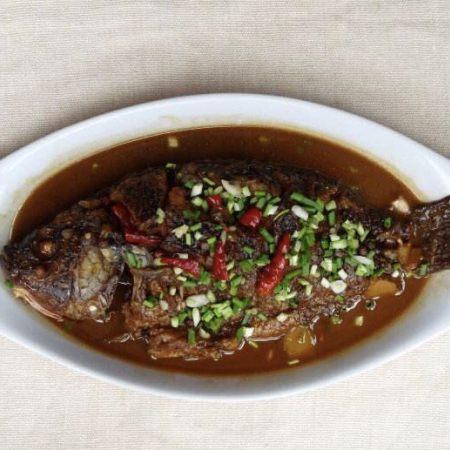 美味的红烧鱼