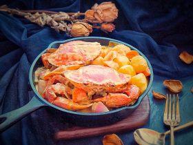 泰式椰浆土豆咖喱蟹