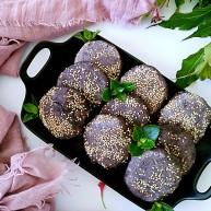 三合面粉混搭紫米鮮肉餅(烤箱)