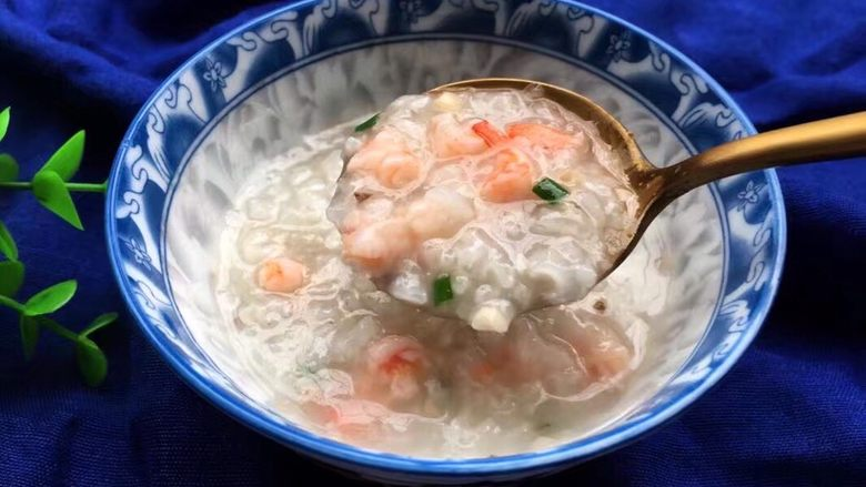 宝宝辅食之香菇虾蓉粥