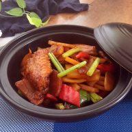 鸡翅焖土豆