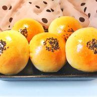 垂涎欲滴的红豆小餐包(一次性发酵)