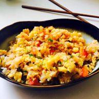 香甜米饭 鸡蛋榨菜炒饭