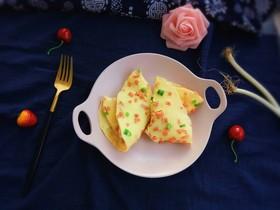快手早餐~火腿葱花饼