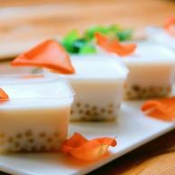 西米蜜豆椰汁糕