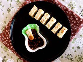 什锦肉末豆腐蒸糕