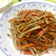 日式牛蒡炒胡蘿蔔絲