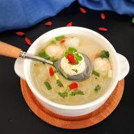 冬瓜粉丝肉丸清汤