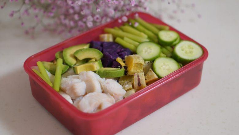 日常健身餐减肥餐营养便当