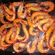 烤箱烤活虾