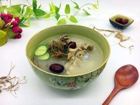 #咸食#  田七大枣煲猪骨汤