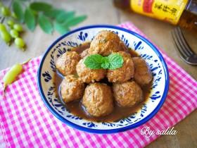#咸味#莲藕猪肉丸