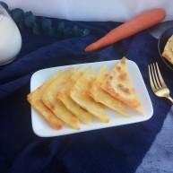快手早餐馄饨皮妙用~酥香肉饼