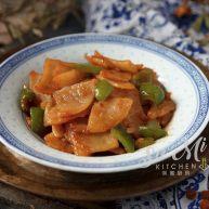 柿子椒土豆片(家常版)