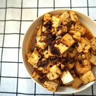 肉燥虾仁豆腐