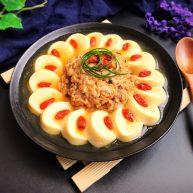 吃豆腐~玉子豆腐环抱狮子头