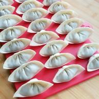 石蛤蟆水饺(博山水饺的包法)