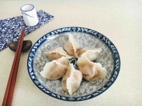 #咸味# 西葫芦羊肉水饺