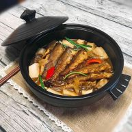 #咸味# 砂锅小黄鱼炖豆腐
