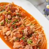 金针菇好吃又简单的做法,超级下饭哦!