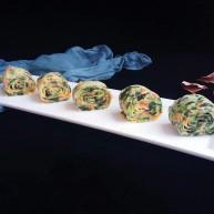 #咸味#菠菜海苔玉子烧