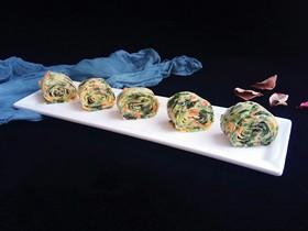 #咸味#菠菜海苔玉子燒