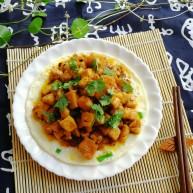 吃豆腐#蛋清餅十熘豆腐