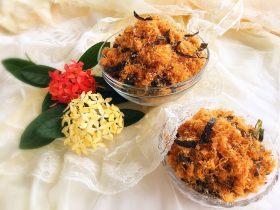 奧爾良海苔芝麻雞肉松 (平底鍋版)