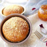 桃心酥粒面包