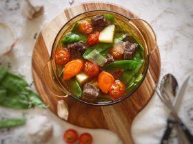 蔬菜牛肉汤煲