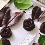 巧克力樹葉