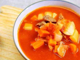 宝宝版罗宋汤 宝宝辅食,牛里脊肉+土豆