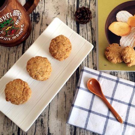 香酥脆燕麦饼干