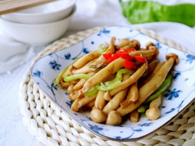 椒香海鲜菇