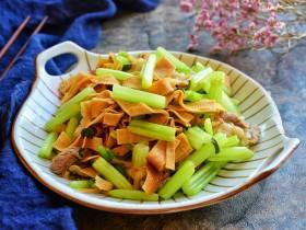 芹菜炒干豆腐
