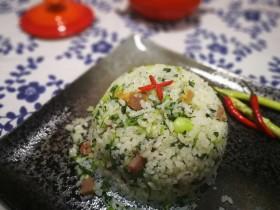 猪油咸肉香肠菜饭