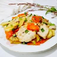 豉留香~豆豉茨菰烩肉片